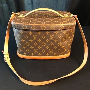 Louis Vuitton cosmetic carry case, original owner